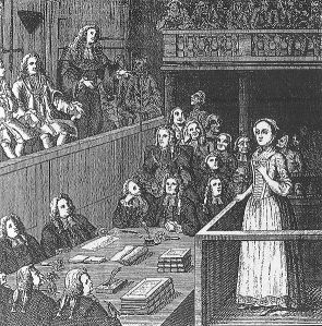The trial of Elizabeth Canning, 1754