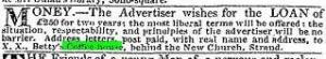 The Times 1 September 1820
