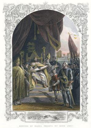 Magna Carta ancestryimages dot com